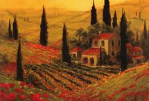 toscana provence style paintings