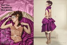 Modern Day Marie-Antoinette as featured in Freque Magazine / Contemporary fashion editorial