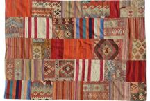 Patchwork Kilim / Made with an eclectic mix of traditional and contemporary Kilim pieces.