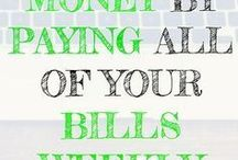 Savings Tips / Awesome tips on ways to build up your savings and ways that you can save more money