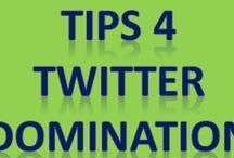Twitter Domination!!! / http://kennyboykin.com/twitter-tips/  Tips for Dominating Twitter.  ONLY Twitter Stuff / by Kenny Boykin