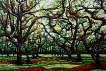 Dan Civa - Chestnut Plantation, Thailand / Malerier af Chestnut træer i Thailand