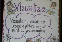 Characters, visualizing