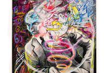 Lou Stinger's canvas