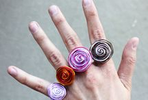 Crafts - Easy jewelry rings !!!