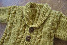 Roupa crochê e tricot