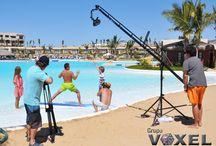 Producciones / Imagenes de Making Off de diversos proyectos Audiovisuales, Multimedia, en HD, FullHD HD3D, etc.