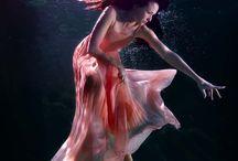 Underwater, life under life.