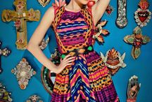 Mexican dresses / Beautiful Mexican embroidered dresses. A little piece of Mexico in your wardrobe!