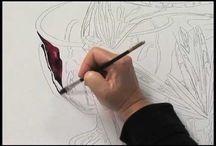 Watercolour Ideas / Watercolour lessons