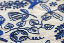 Embroidery / by Red Persimmon Imports - Katrina Ulrich
