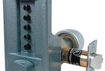 Kaba access primary push button entry lock