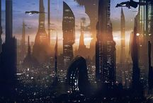 planets; star wars - coruscant