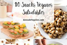 Snacks veganos