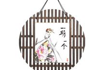 Japanese Painting / Japanese painting in Shikishi and other wall hanging
