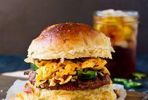 FOOD    Burgers & Sandwich Recipes / by Paula Parker