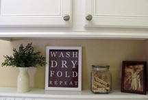 Laundry room design / by Kimberley Andres