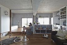 Aire / Arquitectura de planta libre / diáfana