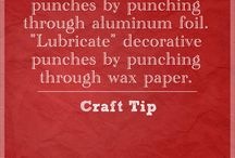 -- CrAfTiNg TiPs --