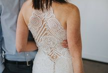 wedding dresses with amazing backs! / Low backs. illusion backs, back jewellery, just bridal gowns with stunning backs!