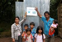 Sanitation Project in Cambodia / helping build latrines