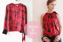 Upcycling / Sewing clothing