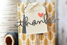 Cards: Thanks/Gratitude / by Amy L0uAldaMay