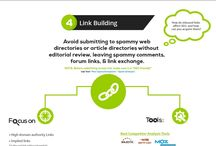 Top 5 SEO Infographics / This board is part of my Online Marketing Treasure Chest.  You'll find the Top 5 Infographics for SEO
