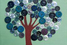 artesanato com botoes