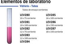 VIDRIERIA / Elementos de laboratorio en borosilicato, categoría A, balones, vasos de precipitado, buretas, tubos de ensayo. venta al por mayor.
