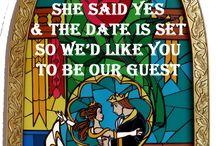 美女と野獣 wedding