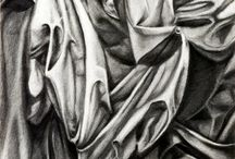 Drapery in ART / A collection of beautiful drapery studies