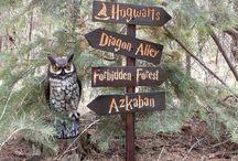 Hogwarts / Harry Potter Garden Ideas