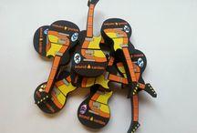 Sound Garden Hotel - gitary / Niestandardowy projekt USB zrealizowany dla SOUND GARDEN HOTEL który mocno nawiązuje do muzyki.