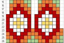 norské vzory na pletení