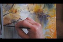 Aquarelles Jacques Williet / Aquarelle de Jacques Williet, Watercolor