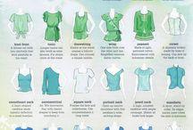 Visual clothing shape glossary