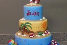 Beach cakes ...