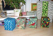 Mine gaver  / patchwork, dukketøj, syæsker, ringmapper m.m.