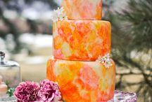 Orange Weddings / Orange themed wedding inspiration