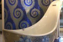 shoe bath tub