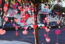 Hearts All Over the World / A Valentine's Pinboard