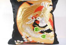 Japanese Obi Pillows