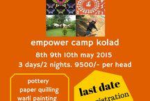 art etc, pune / art and adventure camp