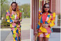 Passion: Wax, Ankara, Kitenge, Pagnes / Diverse utilisations du pagne dans l'habillement et les accessoires
