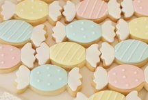Cookie art sweets