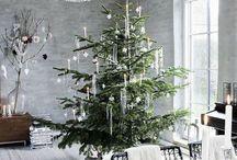 Kerst woonkamers
