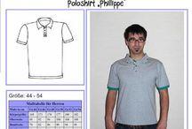 Patterns for men // Schnittmuster für ihn / Inspiration & patterns for sewing for men