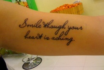 tattoos I may get someday / by Heather Pruneda