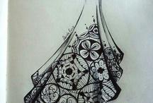 Desenhos de moda / Para fins de pesquisa
